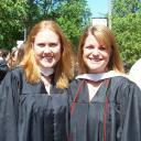 Shayla Syverson '07 and Lisa Raetz '07