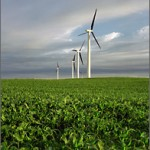(Photo from the National Renewable Energy Laboratory, http://www.nrel.gov/learning/ep_wind.html)