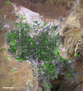 By the year 2000, Las Vegas' population had exceeded 1.5 million people.