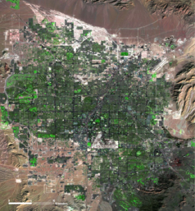 By 2006, Las Vegas had over 2 million people.