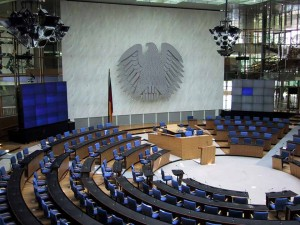 Plenary sessions took place in the former German Parliament building