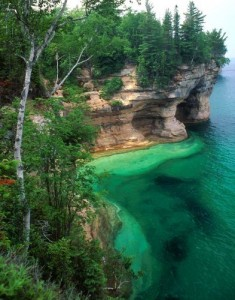 Lake Superior at Pictured Rocks Lakeshore. Photo: Bob Brodbeck, AP