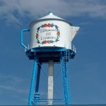 Lindstrom, MN water tower