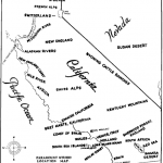 Source: Paramount Studio map of California's geographical facsimiles, fron The Motion Picture Industry as a Basis for Bond Financing, 1927
