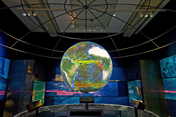 DigiGlobe - Chip Clark - Smithsonian Institution