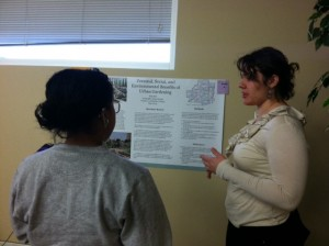 Elsa is interested in the benefits of urban garden for environment, individuals, and communities.