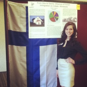 Carlie Hedlund ('15): From sisu to sauna: Influence of Finnish immigration on Cokato, Minnesota