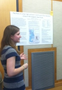 Katie Feterl ('15): The Role of Urban Agriculture in Community Food Security: A North Minneapolis Case Study