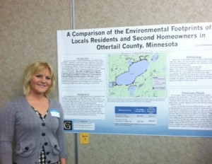 Liz Underwood ('14): A Comparison of the Environmental Footprints of Locals Residents and Second Homeowners in Ottertail County, Minnesota
