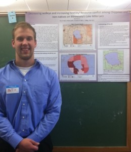 Matt Keller ('15): Decreasing walleye and increasing hostility: Resource conflict among Chippewa and non-natives on Minnesota's Lake Mille Lacs