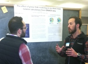 Will Metcalf ('15): The effect of global GIA modeling on ice sheet mass balance calculations from GRACE data