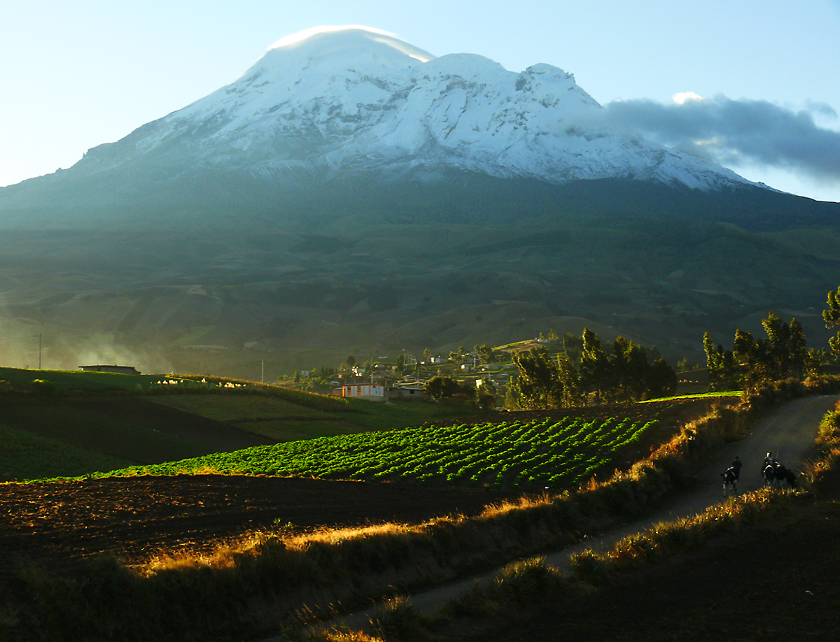 Chimborazo and Fields Near Calshi-1