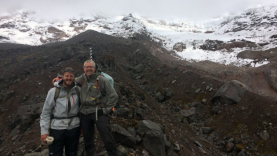 Jeff-and-Casey-Decker-Climbing-Towards-the-Glacier-1