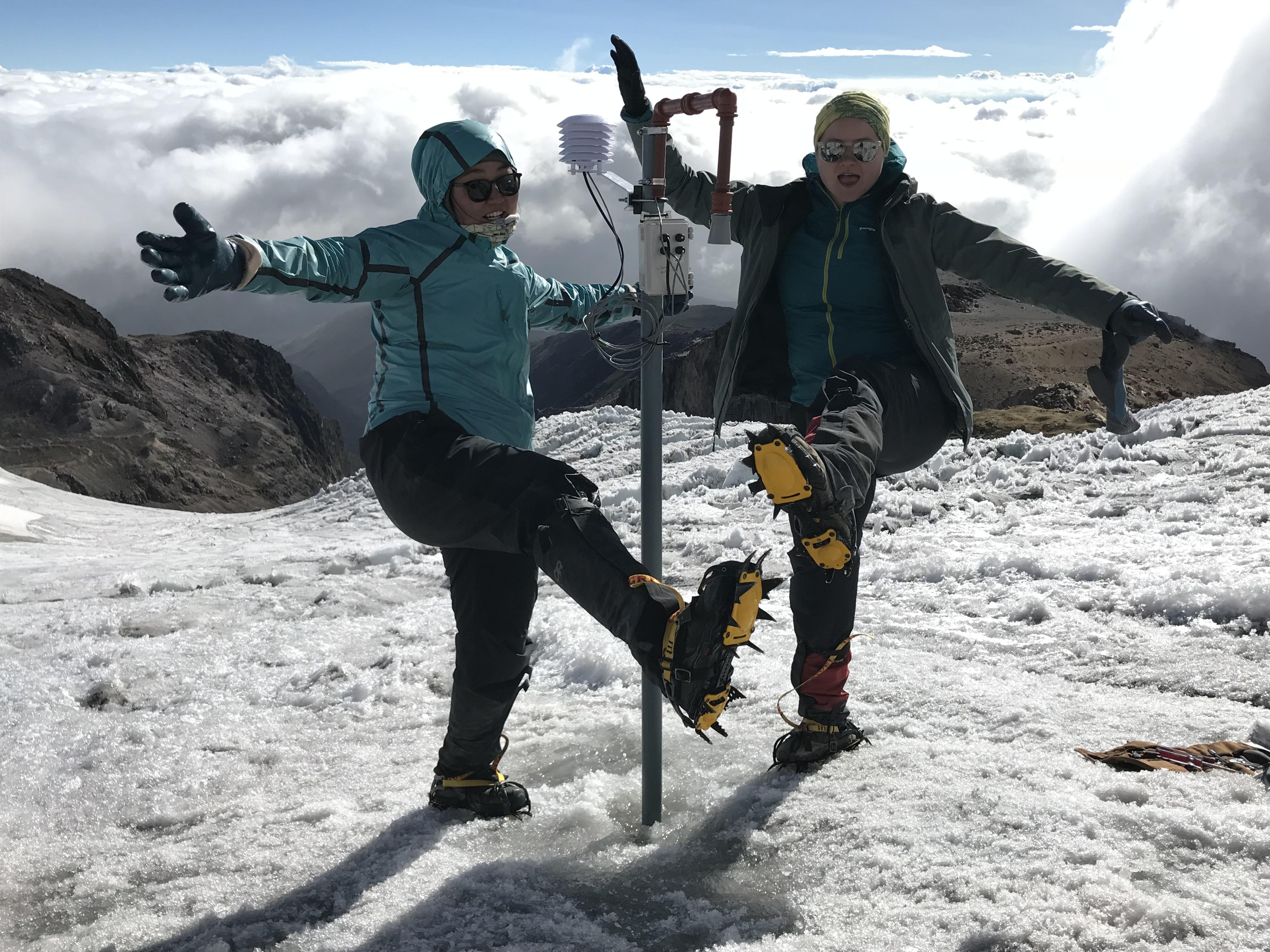 Chloe Hanna Ecuador glacier Jan 2019